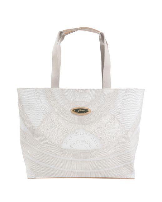 Gattinoni Gray Handbag