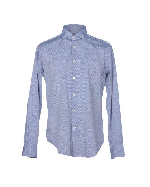 Roda - Blue Shirt for Men - Lyst