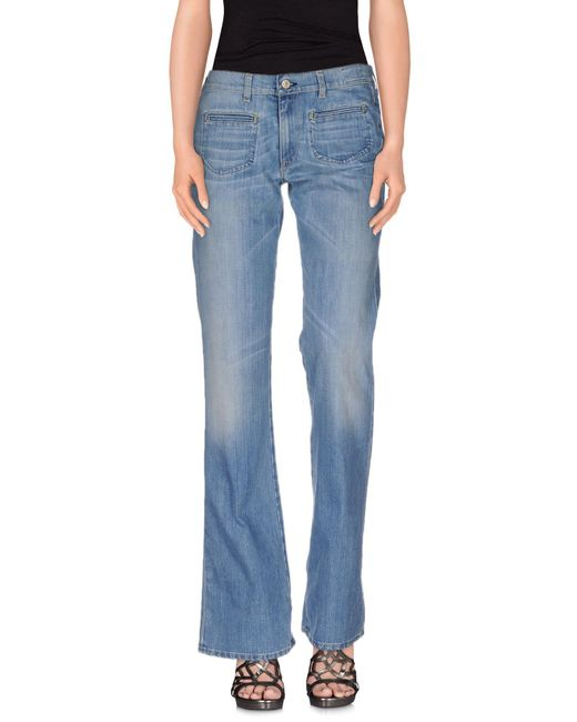 Mauro Grifoni - Blue Denim Pants - Lyst