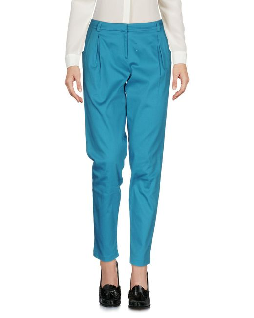 Who*s Who - Blue Casual Pants - Lyst