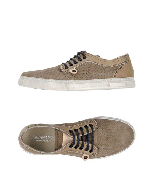 CafeNoir - Gray Low-tops & Sneakers for Men - Lyst