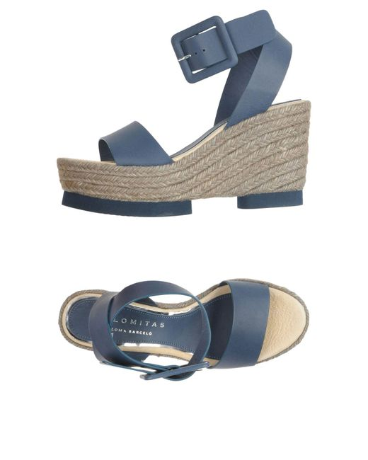 Palomitas By Paloma Barcelo' - Blue Sandals - Lyst