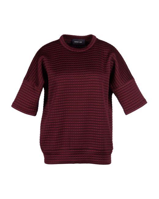 Derek Lam - Purple Sweater - Lyst