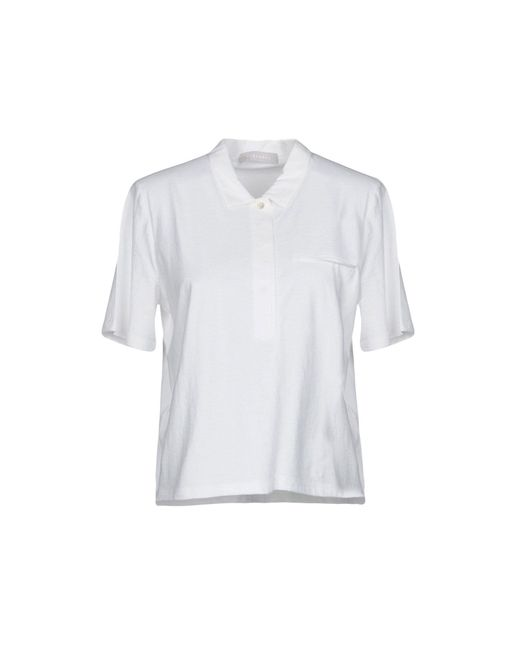 Stefanel - White Polo Shirts - Lyst