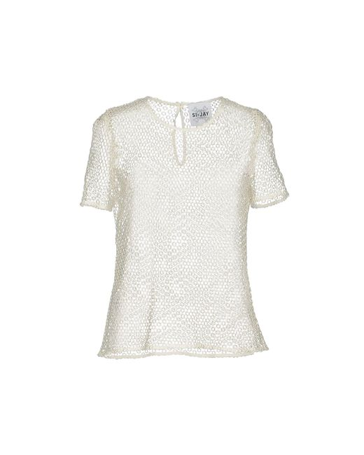 Si-jay - White Blouse - Lyst