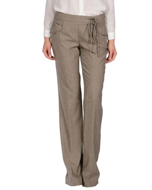 Ermanno Scervino - Natural Casual Trouser - Lyst
