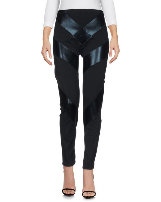 Norma Kamali - Black Leggings - Lyst