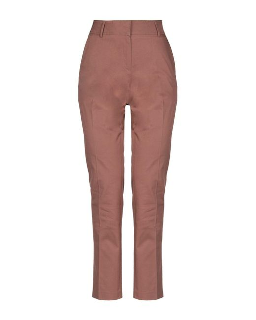 Lamberto Losani - Brown Casual Trouser - Lyst