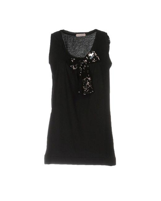 Schumacher - Black T-shirt - Lyst