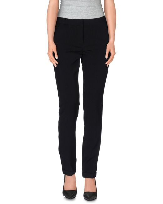 MSGM | Black Casual Pants | Lyst