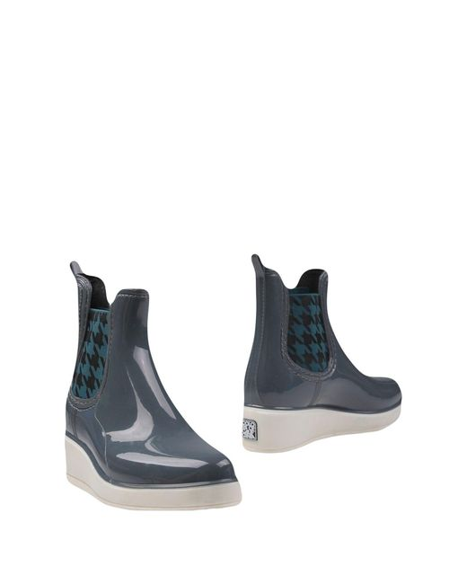 Colors Of California | Gray Ankle Boots | Lyst