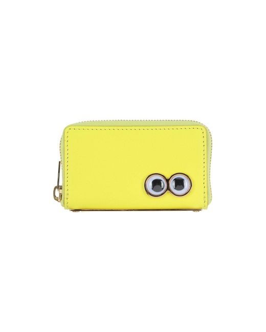 Sophie Hulme - Yellow Coin Purse - Lyst