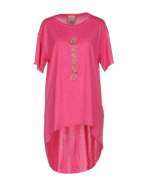 Jijil - Pink T-shirt - Lyst