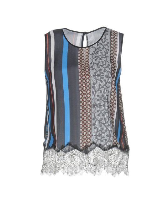 Clover Canyon - Blue Top - Lyst