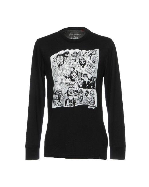 Altamont | Black T-shirt for Men | Lyst