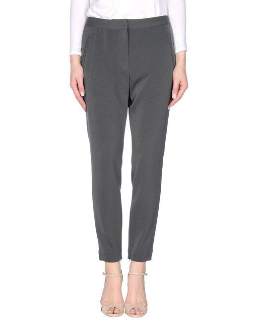 By Malene Birger - Gray Casual Pants - Lyst