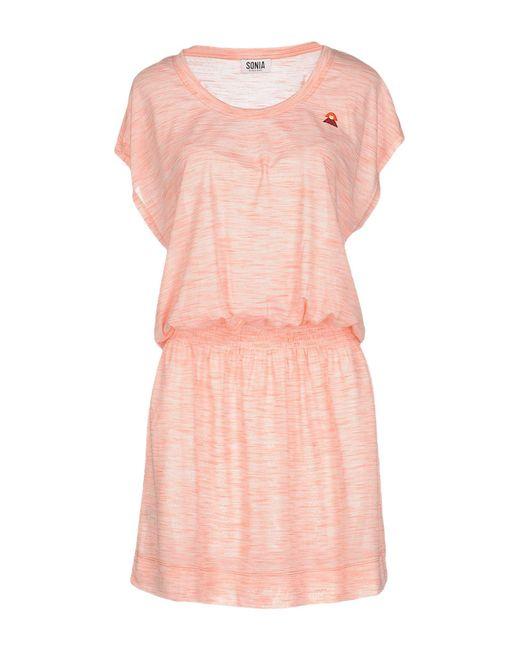 Sonia by Sonia Rykiel | Pink Short Dress | Lyst