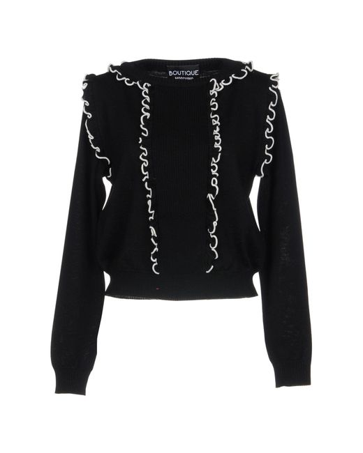 Boutique Moschino - Black Jumper - Lyst