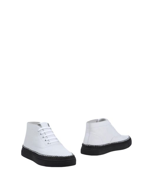 Alexander Wang - White Ankle Boots for Men - Lyst