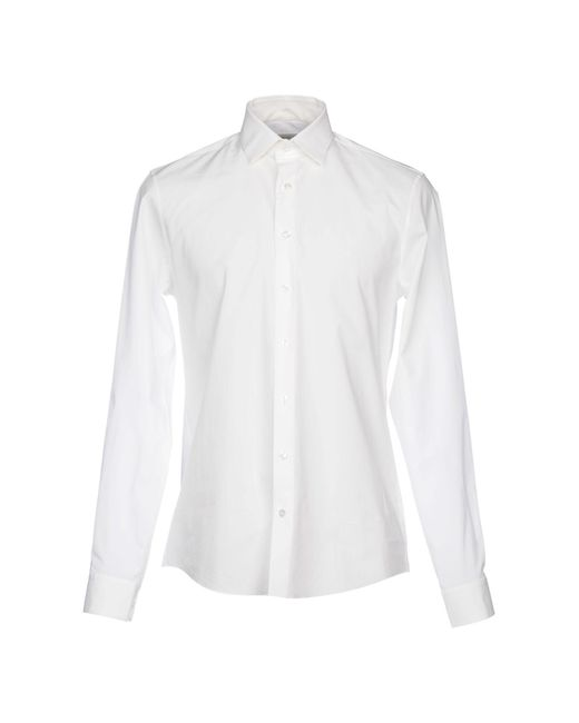 Calvin Klein Jeans - White Shirts for Men - Lyst