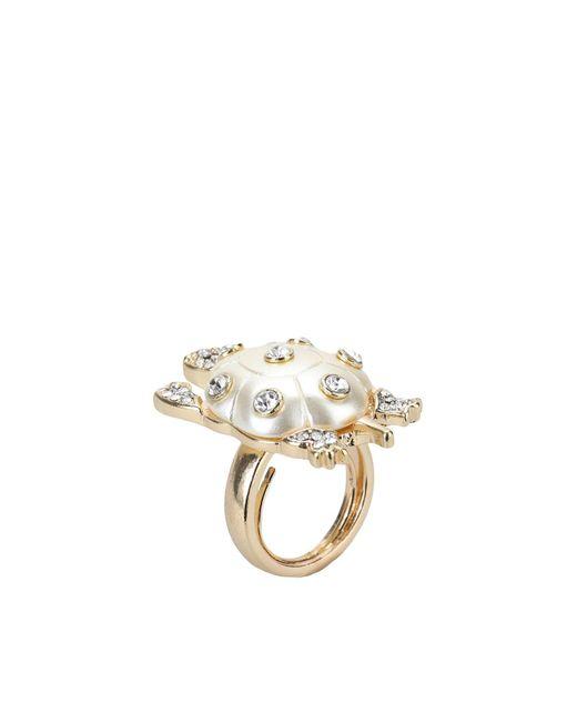 Kenneth Jay Lane   White Ring   Lyst