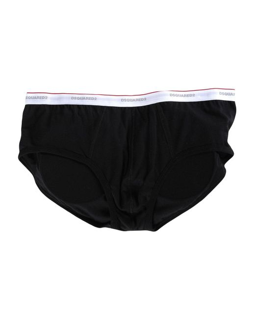 DSquared² - Black Brief for Men - Lyst