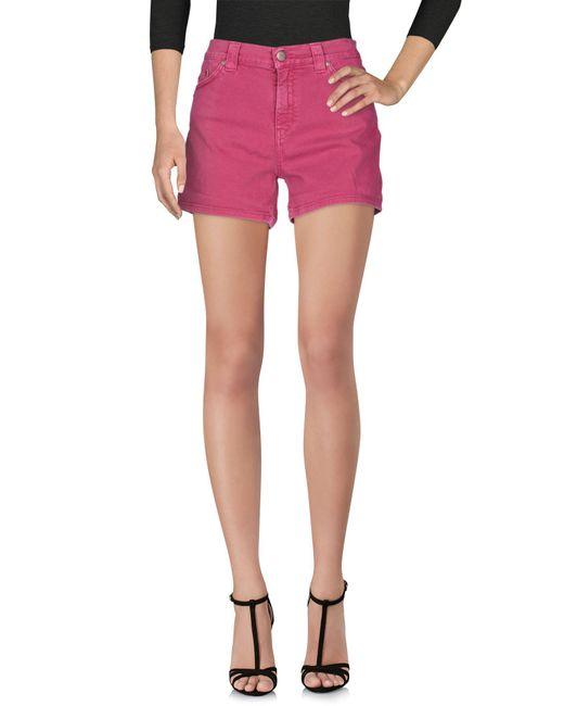 Dondup - Multicolor Denim Shorts - Lyst