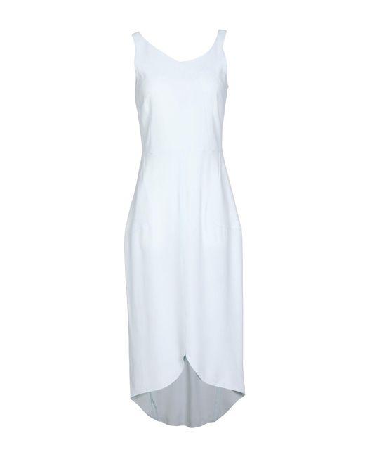 Antonio Berardi Multicolor 3/4 Length Dress