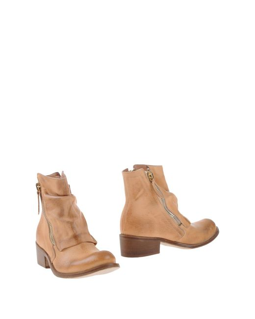 Manila Grace - Natural Ankle Boots - Lyst