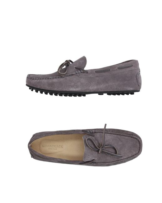 Lumberjack - Gray Loafer for Men - Lyst
