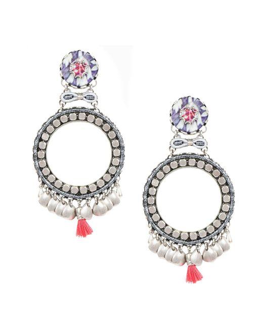 Ayala Bar - Purple Earrings - Lyst