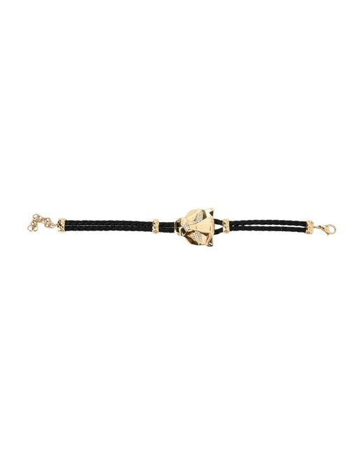Just Cavalli - Black Bracelets - Lyst