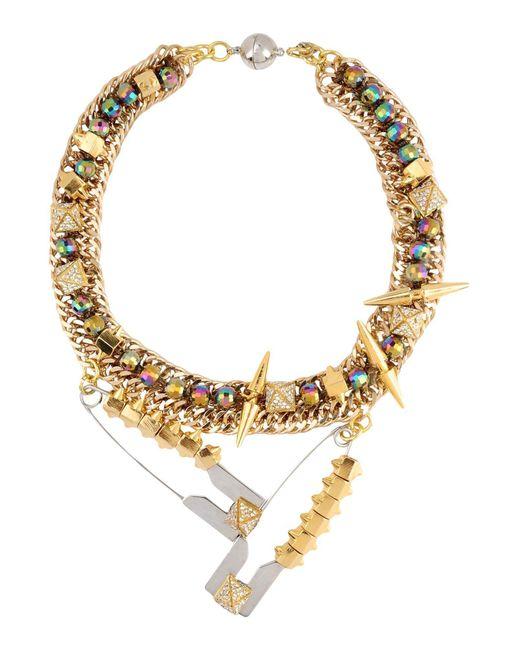 Assad Mounser | Metallic Necklace | Lyst