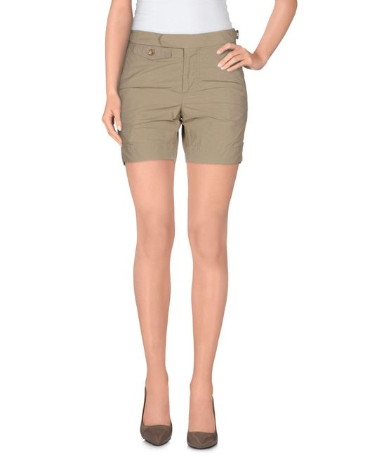 Incotex - Natural Shorts - Lyst