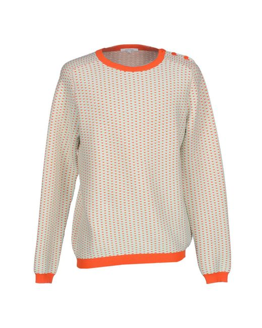 Carven - Natural Sweater for Men - Lyst