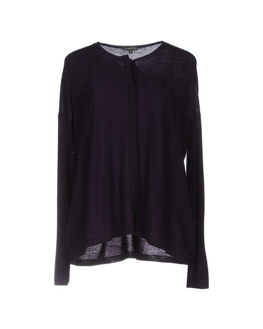 Scaglione - Purple Cardigan - Lyst