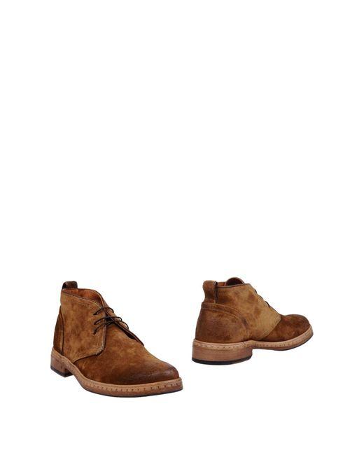 John Varvatos | Brown Ankle Boots for Men | Lyst