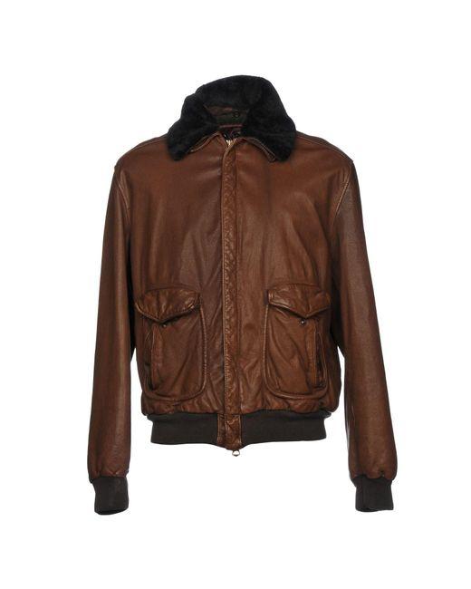 Stewart - Brown Jacket for Men - Lyst