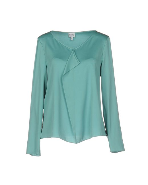 Armani - Green Blouses - Lyst
