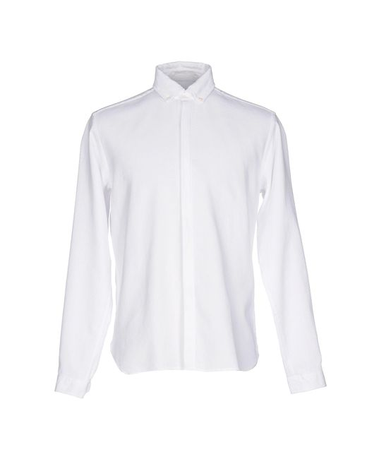 Oliver Spencer - White Shirt for Men - Lyst