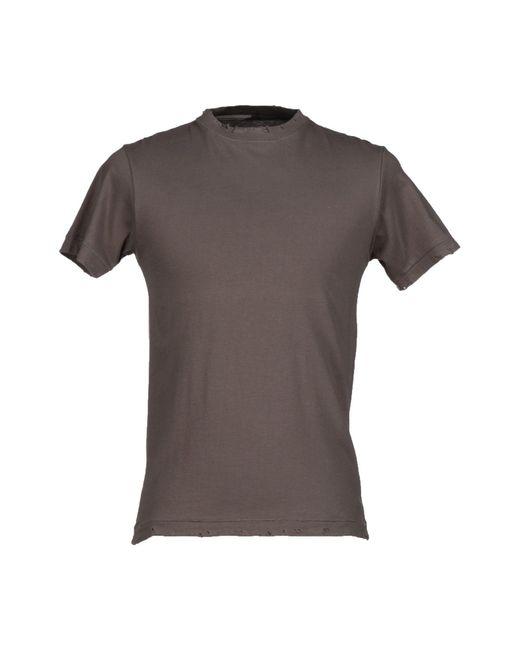 Prever | Brown T-shirt for Men | Lyst