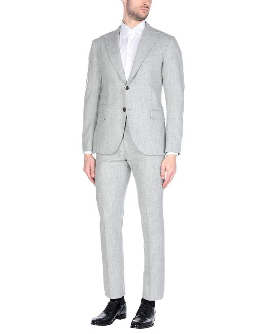 Eleventy Gray Suit for men