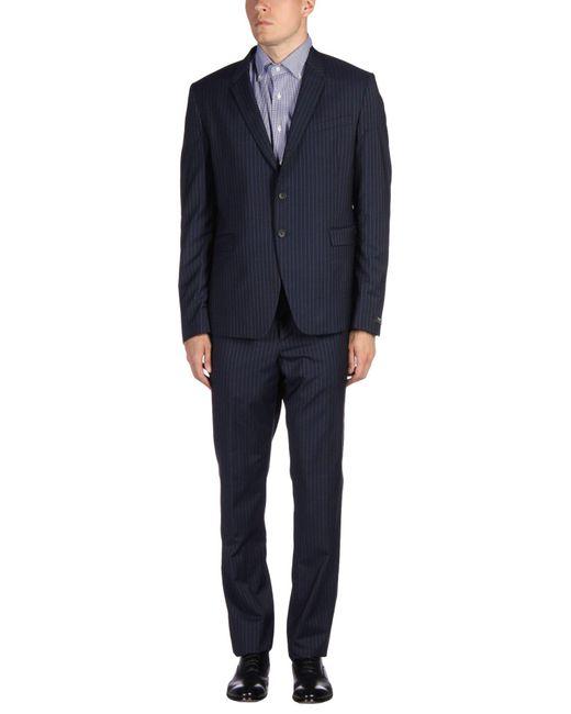 Paul Smith - Blue Suit for Men - Lyst