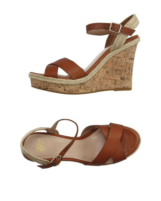 Pedro Del Hierro Madrid - Brown Sandals - Lyst
