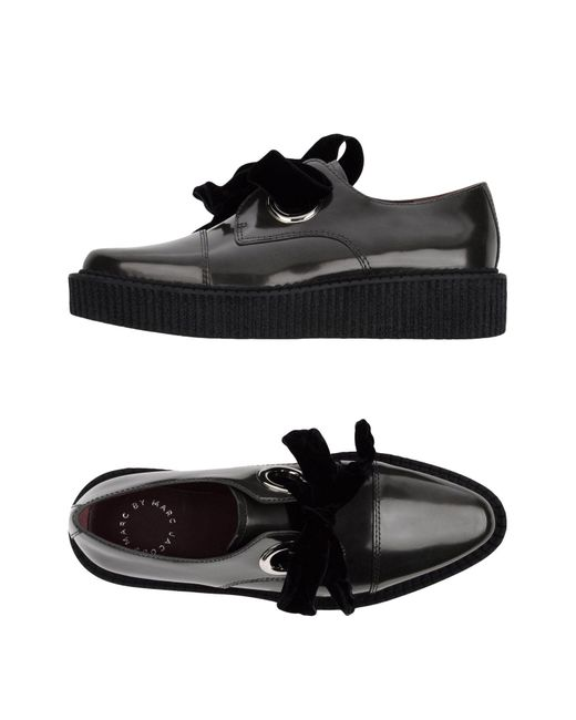 Marc By Marc Jacobs | Black Lace-up Shoes | Lyst