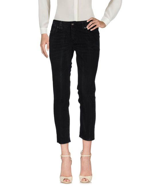 John Galliano | Black Casual Trouser | Lyst