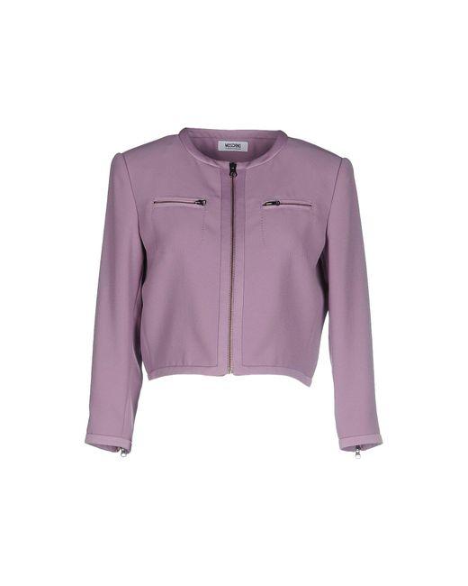 Boutique Moschino - Purple Blazer - Lyst