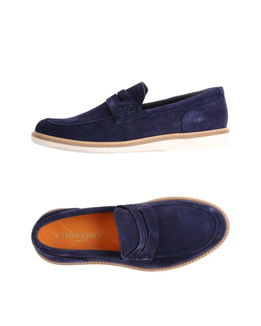 Lumberjack - Blue Loafers for Men - Lyst