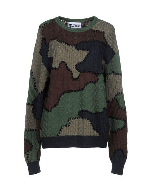 Moschino - Green Sweater - Lyst