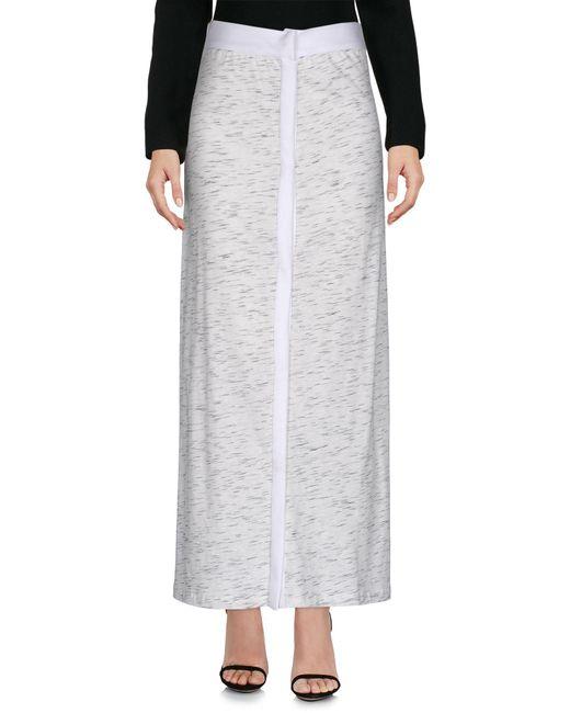 Prism   White Long Skirt   Lyst